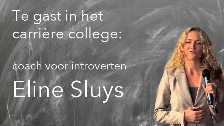 Eline Sluys geeft tips aan introverte mensen